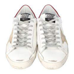 Golden Goose White Superstar Classic Sneakers Size 41