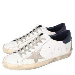 Golden Goose White Superstar low-top sneakers Size EU 41