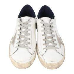 Golden Goose White Superstar low-top sneakers Size EU 43