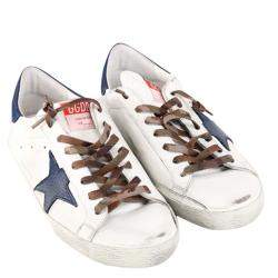 Golden Goose White Super Star Sneaker Size EU 43