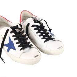 Golden Goose White Super Star Sneaker Size EU 40