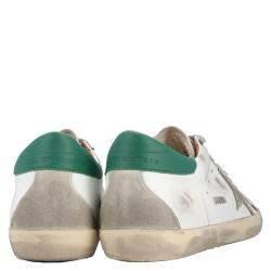 Golden Goose White Leather Sneaker Size EU 43