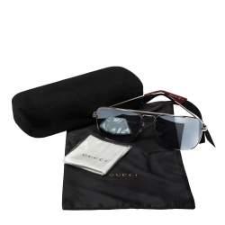نظارة شمسية غوتشي أفياتور جي جي0108أس رمادي/ رصاصي