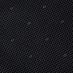 Gucci Navy Blue G Pattern Silk Traditional Tie