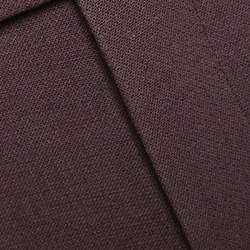 Gucci Brown Stretch Wool Trousers M