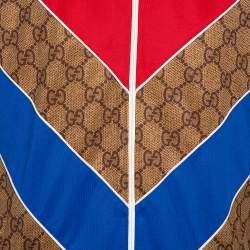 Gucci Dark Beige Guccissima Logo Technical Jersey Jacket XS