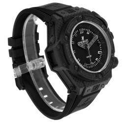 Hublot Black Carbon Fiber Titanium Big Bang King Power Oceanographic 731.QX Men's Wristwatch 48 MM