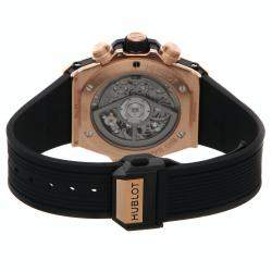 Hublot Gray Ceramic And 18K Rose Gold Big Bang Unico King Gold 441.OM.1180.RX Men's Wristwatch 42 MM