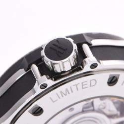 Hublot Black Diamonds Stainless Steel Big Bang 345.SS.6570.NR.BSK16 Men's Wristwatch 41 MM