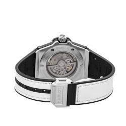 Hublot Silver Diamonds Stainless Steel Big Bang Sang Bleu Limited Edition 465.SS.2027.VR.1204.MXM19 Men's Wristwatch 39 MM