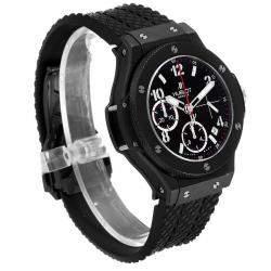 Hublot Black Ceramic Titanium Big Bang Black Magic 342.CX.130.RX Men's Wristwatch 41 MM