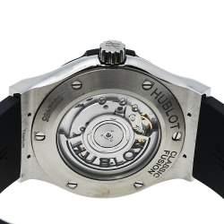 Hublot Black Titanium & Stainless Steel Classic Fusion 542.NX.1171.RX Men's Wristwach 42 mm