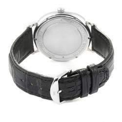 IWC Silver Stainless Steel Portofino Automatic IW356501 Men's Wristwatch 40 MM