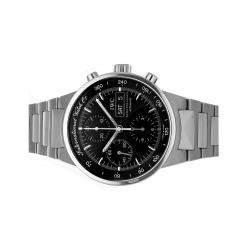 IWC Black Stainless Steel GST Chronograph IW3707-08 Men's Wristwatch 40 MM