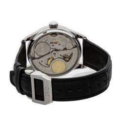 IWC Silver Stainless Steel Portugieser 7 Day IW5001-14 Men's Wristwatch 42 MM