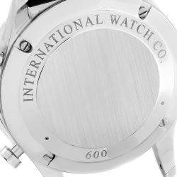 IWC Silver Stainless Steel Portuguese Chrono IW371446 Men's Wristwatch 41 MM