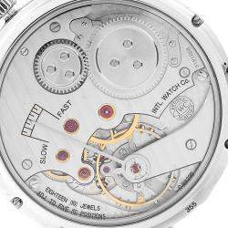 IWC Silver Stainless Steel Portuguese IW545405 Men's Wristwatch 44 MM