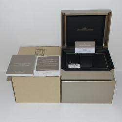 Jaeger LeCoultre Silver 18k Rose Gold Reverso Classic Q3842520 Men's Wristwatch 47 x 28 MM