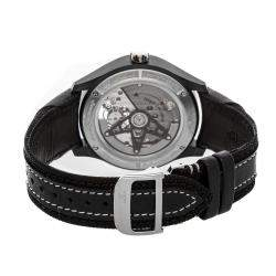 Jaeger LeCoultre Black Ceramic Titanium AMVOX3 Tourbillon GMT Limited Edition Q193K450 Men's Wristwatch 44 MM