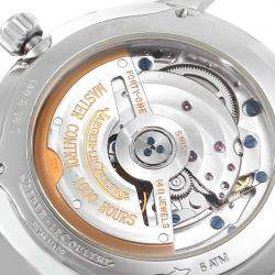 Jaeger Lecoultre Silver Stainless Steel Reserve De Marche 140.8.38.S Q1488404 Men's Wristwatch 37 MM