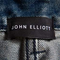 John Elliott Blue Distressed Denim Cast 2 Wharf Jeans M