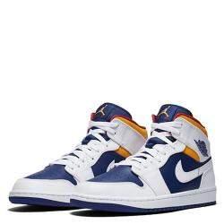 Nike Jordan 1 Mid Laser Orange EU Size 41 US Size 8