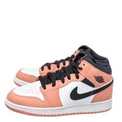 Air Jordan 1 Mid Pink Quartz Sneakers Size 39