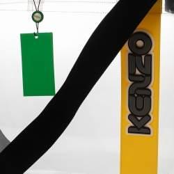 Kenzo Yellow/Clear PVC Logo Shopper Tote