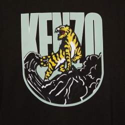 Kenzo Green Cotton Tiger Mountain Capsule Expedition T-Shirt XL