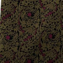 Lanvin Floral Pattern Printed Silk Tie