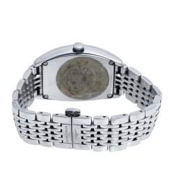 Longines Opaline White Stainless Steel Evidenza L2.642.4 Men's Wristwatch 33 mm