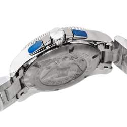 Longines Blue Stainless Steel Hydro Conquest L3.643.4.96.6 Men's Wristwatch 41 mm