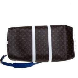 Louis Vuitton x NBA Monogram Canvas Basketball Keepall 55 Bag