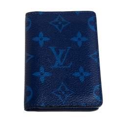 Louis Vuitton Cobalt Monogram Coated Canvas Taïgarama Pocket Organizer