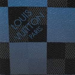 Louis Vuitton Blue Damier Graphite Giant Canvas Pocket Organiser