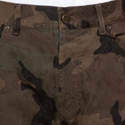 Louis Vuitton X Supreme Camouflage Monogram Jacquard Regular Fit Jeans XL