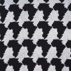 Louis Vuitton Monochrome Lurex Jacquard Crewneck Sweater L