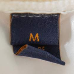 Louis Vuitton Cream Wool & Cashmere Turtleneck Sweater M