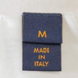 Louis Vuitton Cream Cashmere Plain Rainbow Crewneck T Shirt M