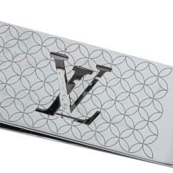 Louis Vuitton Champs Elysees Silver Tone Bill Clip