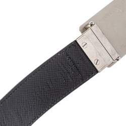 Louis Vuitton Damier Graphite Canvas Reversible Inventeur Belt 100 CM
