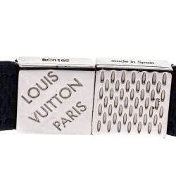 Louis Vuitton Black Damier Ebene Pull It Bracelet