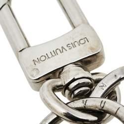Louis Vuitton Silver Tone Knot Bag Charm/Key Holder