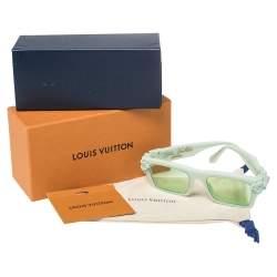 Louis Vuitton Green Tone/ Green Square Montgomery Sunglasses