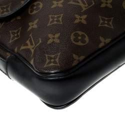 Louis Vuitton Brown Monogram Canvas Messenger Bag