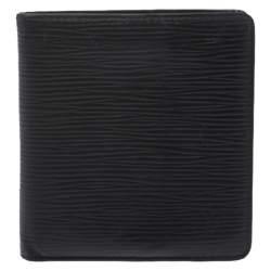 Louis Vuitton Black Epi Leather Multiple Wallet