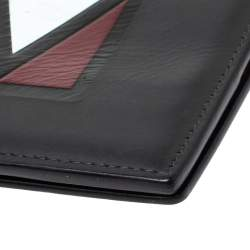 Louis Vuitton Black Leather Bifold Wallet