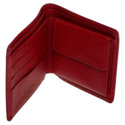 Louis Vuitton Red Epi Leather Marco Wallet