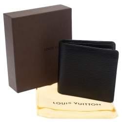 Louis Vuitton Black Epi Leather Marco Bifold Wallet