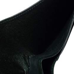 Louis Vuitton Green Taiga Leather Multiple Wallet